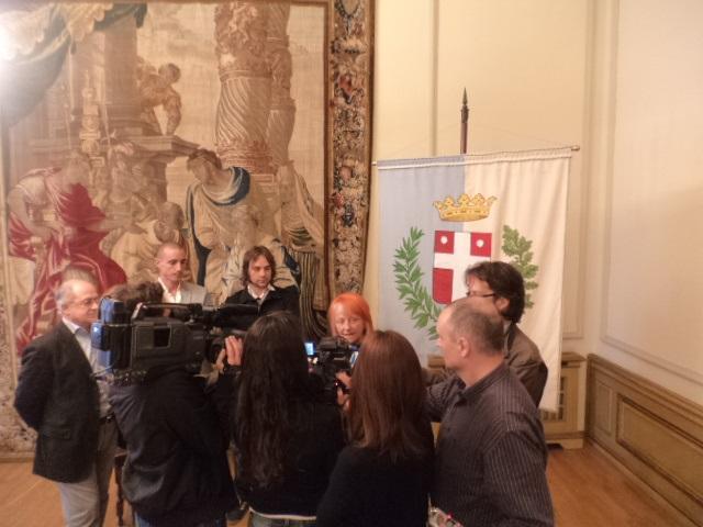 Ca' Sugana, Sala degli Arazzi - Treviso, 28.04.2014