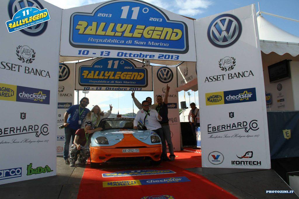 11° Rally Legend (RSM) 10/13.10.2013