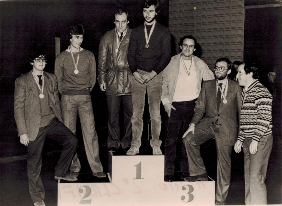 """Premiazione Campionato """"Trofeo A112 Abarth"""" 1981"""