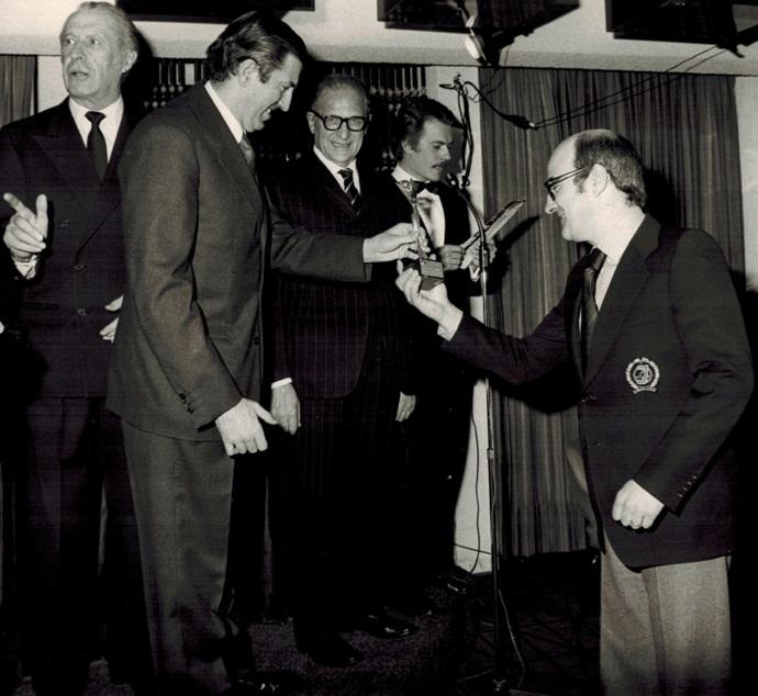 Milano, Premiazione Jolly Club Stagione 1972