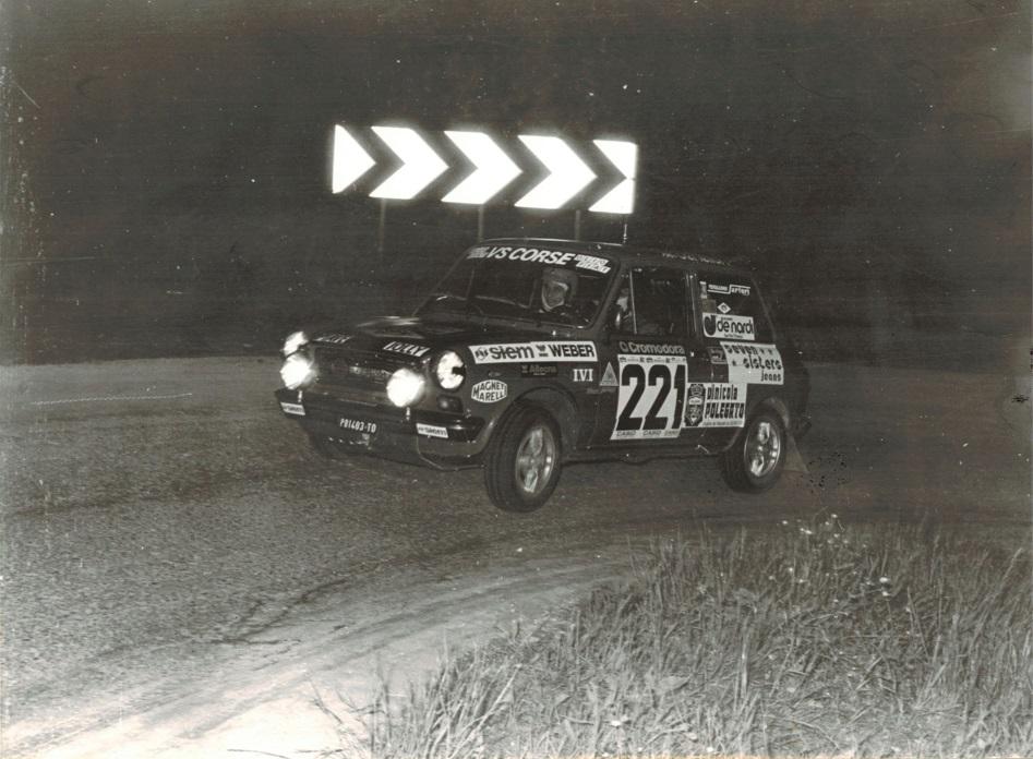 8° Rally 4 Regioni - Trofeo A112 Abarth - 19/21.05.1978