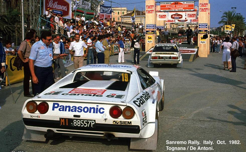 24° Rallye Sanremo - 3/9.10.1982