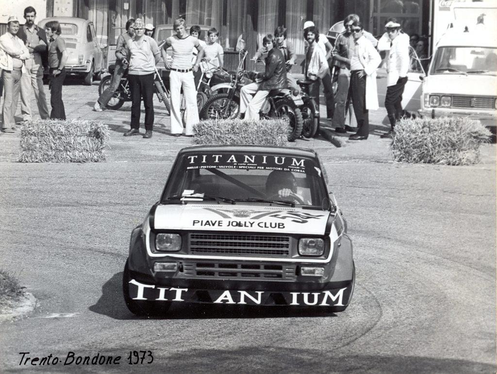 Salita Trento-Bondone - 30.6/1.07.1973