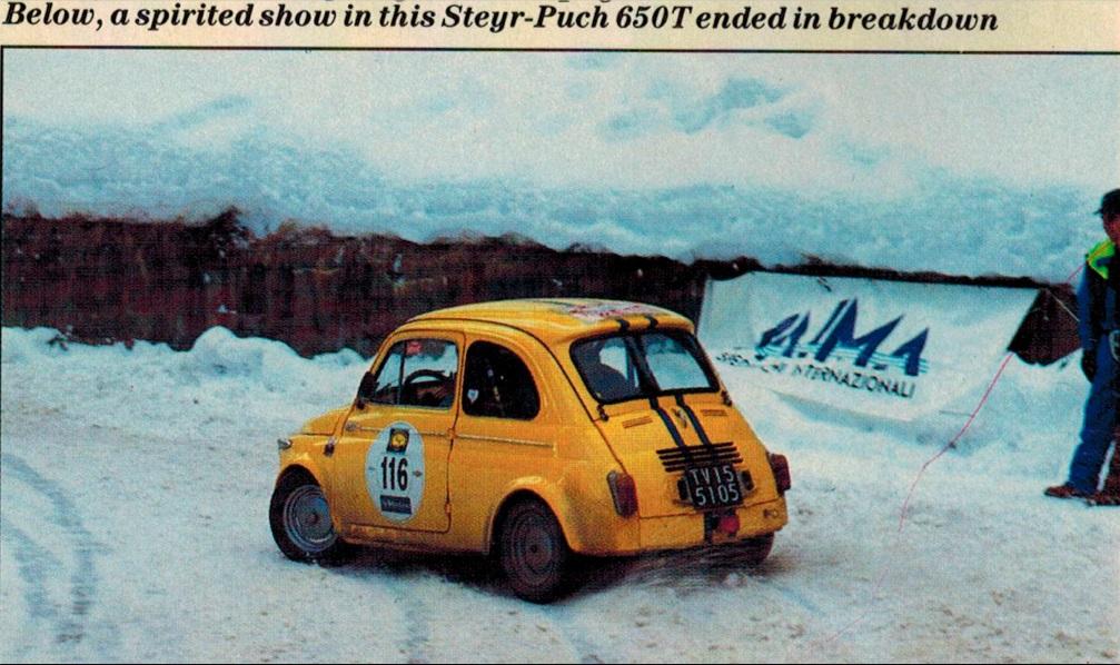 Coppa delle Alpi - 17/20.01.1988